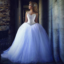 Tulle Sleeveless Ball Gown/Duchess Wedding Dresses