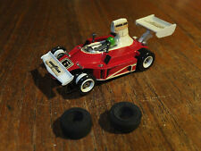 NICE Aurora Ferrari F1, superbe G-Plus Chassis AFX voiture HO Nice Tomy Tyco
