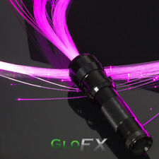 GloFX Space Whip - Fiberoptic Rave Accessory Costume Light Up Glow Flow LED USA