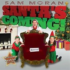 SAM MORAN Santa's Coming! CD NEW Activity Booklet Included Gatefold The Wiggles