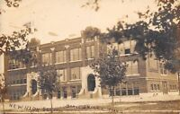 Barnesville Minnesota~New High School~c1918 Real Photo Postcard~RPPC