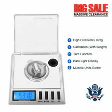 20g x 0.001g High Precision Digital Scale 1mg Portable Jewelry Scale,6 units