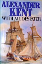 Alexander Kent With All Despatch Audio Book MP 3 CD 10 Hours Unabridged