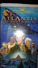 Atlantis: The Lost Empire (VHS, 2002) Clamshell Case