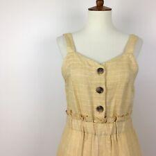 Romeo + Juliet Couture Linen Jumpsuit Size Medium