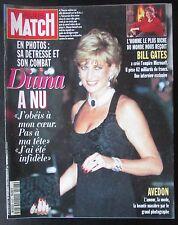 PARIS MATCH 1995 LADY DIANA LA VIE A BOMBAY MARIAGE DANEMARK BILL GATES AVEDON