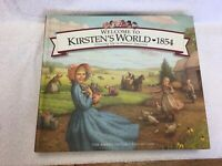1999 Welcome to Kirsten's World American Doll Book