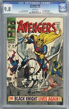 Avengers #48 (1968) CGC 9.8 White Pages *Dane Whitman becomes Black Knight!