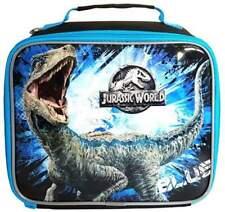 Jurassic World 2 Lunch Bag Fallen Kingdom Blue Lunchbox Velociraptor Raptor Kids