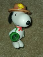 """McDonald's 2018 Peanuts Snoopy # 2 Snoopy as the """"Beagle Scout"""" toy loose"""