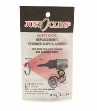 "Jc380 Just Clips Airtool 3/8"" Retainer Clip & O-Ring Kit for Air Tools"