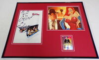 Kathleen Turner Signed Framed 16x20 Jessica Rabbit Photo Poster Set LEAF