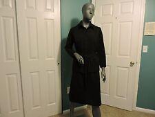 Womens Vintage 60's-70's Lorac Original Secretary Belted Jacket Skirt Sz 16 1/2