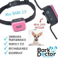 BARK DOCTOR MINI BARK 2.0 COLLAR VIBRATION SOUND XS SMALL CHIHUAHUAS TOY TERRIER