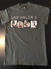 VTG 90s 1998 Van Halen III 3 Concert Tour T-Shirt Rock Metal Glam Guitar Cherone