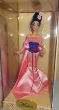 Disney Store Designer Princess Mulan Limited Edition Doll.