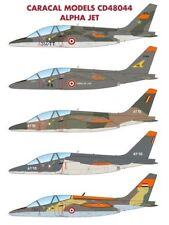Caracal décalques 1/48 Dassault-Dornier Alpha Jet Un/E # 48044
