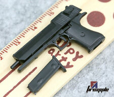 "1:6 Scale 4D Assembling Desert Eagle pistol Gun Weapon Mode F 12"" Figure toy"