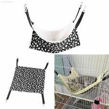 FC3B Pet Cat Hammock LARGE Leopard Fur Bed Animal Hanging Dog Cage Comforter