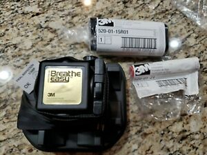 3M Breathe Easy Airstream Turbo PAPR Unit No 022-00-03 w/Battery  & flow meter