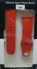 Silicone Sport Replacement Band for Smart Watch Series 1 & 2 38mm Red #183