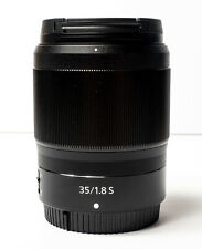 New listing Nikon Z 35mm f/1.8 S Lens