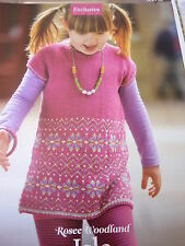 Knitting Pattern-Pretty Tunic Top In  Cotton Blend 4Ply -Sizes 2-10 years Old