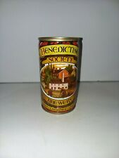 Benedictine Society Brewery Steel Beer Can - Flat Top - Opened on Bottom