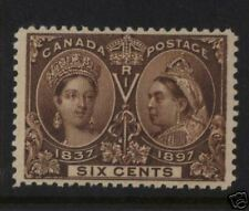 Canada #55 XF/NH  **With Certificate**