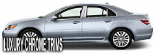 Acura RL Stainless Steel Chrome Pillar Posts by Luxury Trims 2005-2012 (6pcs)