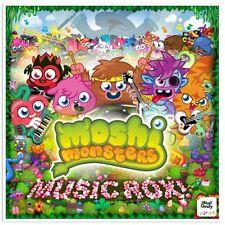 MOSHI MONSTERS Music Rox! CD BRAND NEW