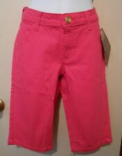 South Pole Junior Stretch Premium Denim Shorts Shock Pink 9 NWT