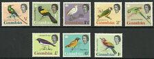 Album Treasures Gambia Scott # 175-82 Elizabeth Birds Mint Lightly Hinged