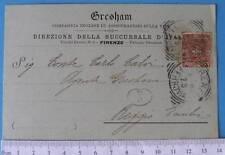 cartolina Assicurazione Vita Inglese Gresham 1901 -2664