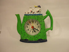 LITTLE FRENCH TEA POT CLOCKS