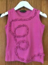 Oilily Lovely Girls Pink Top Age 5-6 Yrs 100% Cotton
