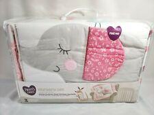 Parent's Choice 3 Piece Nursery Set - Comforter Fitted Crib Sheet Dust Ruffle