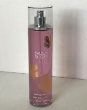 NEW! BATH & BODY WORKS FINE FRAGRANCE BODY SPLASH MIST SPRAY - BROWN SUGAR & FIG