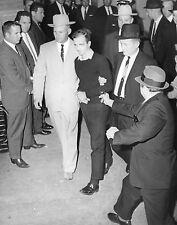 LEE HARVEY OSWALD &  JACK RUBY ~  8 x 10 Photo ~ John F. Kennedy assassination
