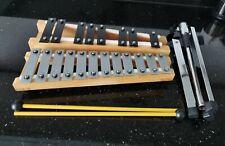 En bois Glockenspiel Xylophone Avec Support Trépied