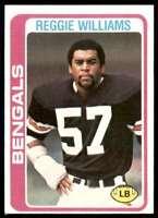 1978 Topps (Mm-6) Reggie Williams Cincinnati Bengals #229