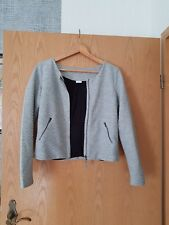 Vero Moda Sweatjacke Größe M grau