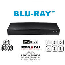 SAMSUNG BD-J5100 REGION FREE BLU-RAY DVD PLAYER - A, B, C & 0-9 PAL/NTSC