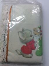 Sunset Holiday Friends Stocking Quilted Stitchery Kit Bill Morehead 178 Cat
