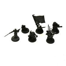 ASTRA MILITARUM cadian command squad #2 METAL 40K Imperial guard
