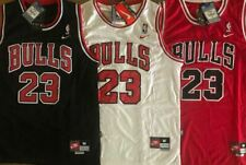 NWT #23 Michael Jordan Men's/Youth Chicago Bulls Stitched Red/Black/White Jersey