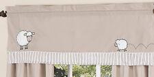 Window Valance Curtain Sweet Jojo Designs Sheep Lamb Boy or Girl Kid Bedding Set