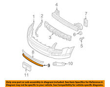 FORD OEM 06-09 Fusion-Grille-Lower 6E5Z8200C