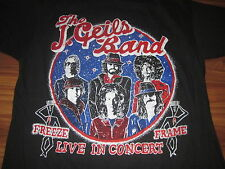 The J. Geils Band Freeze Frame Live In Concert Vintage Concert Shirt