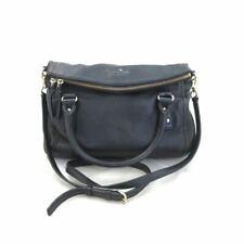 Kate Spade Cobble Hill Leslie Small Black Crossbody Satchel Bag Purse 0613CD